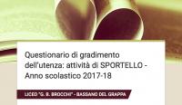 Sportello 2017-18