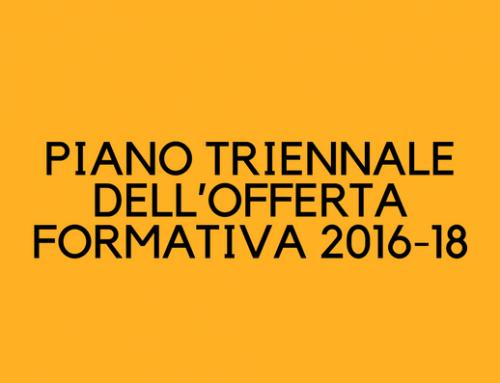 PTOF 2016-18