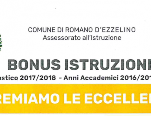 Bonus Istruzione per Studenti, Comune di Romano d'Ezzelino