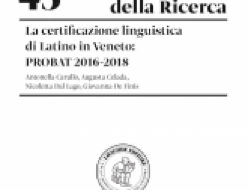 Prossima pubblicazione certificazione linguistica PROBAT